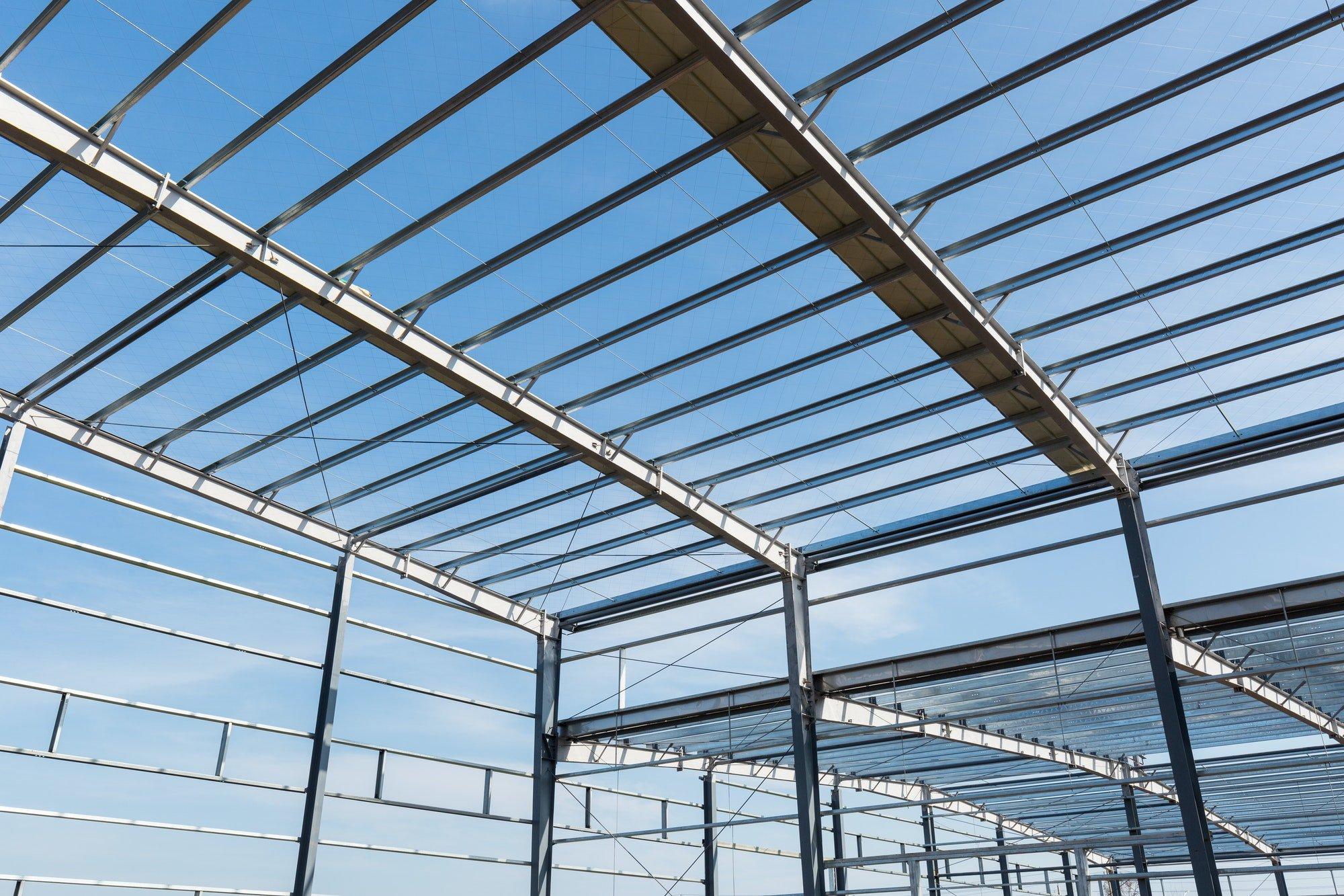 Fabricación Taller de estructura metálica de acero inoxidable